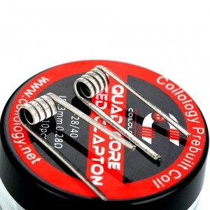 Quad-core fused clapton coils 10pcs